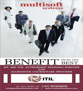 certified training on ITIL